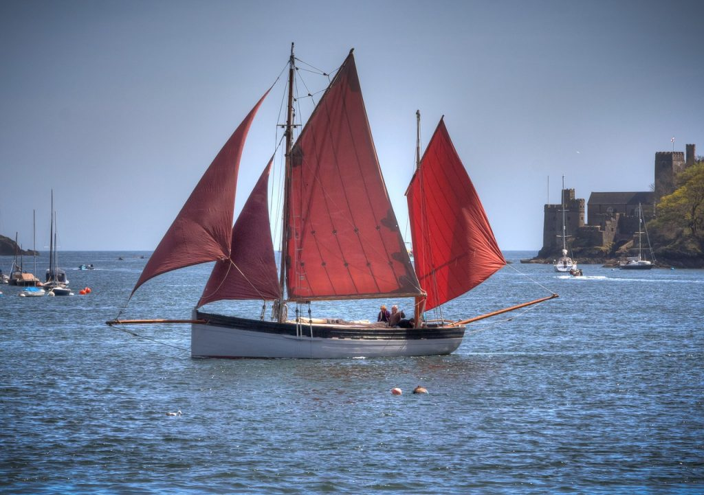 sailing-in-devon