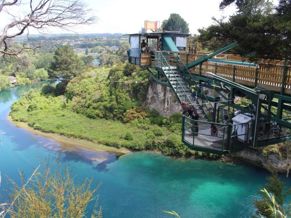 Bungee Jumping Taupo New Zealand